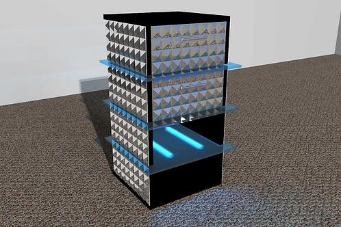 Table de nuit : Modèle Pyramidal