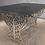 Thumbnail: Table rectangulaire 2 pieds droits : Art Déco