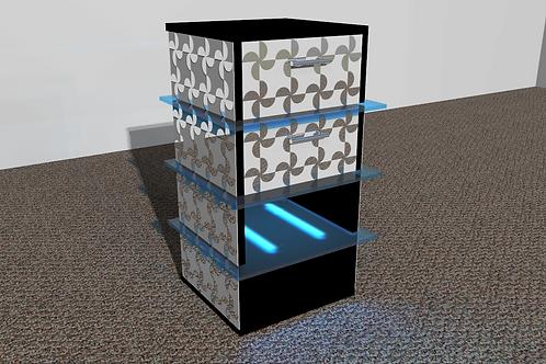 Table de nuit : Modèle Ventilo