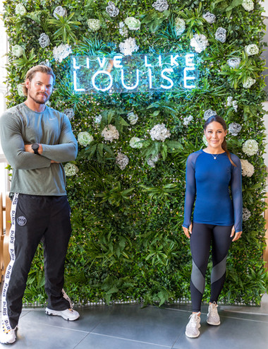 Louise Thompson and Ryan