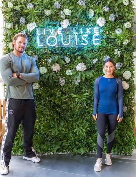 Louise Thompson and Ryan