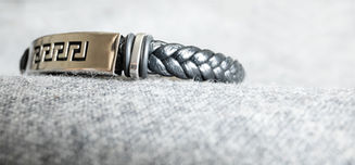 AOS Leather Bracelet
