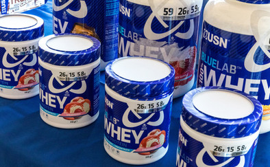 USN Whey Protein Product Photography