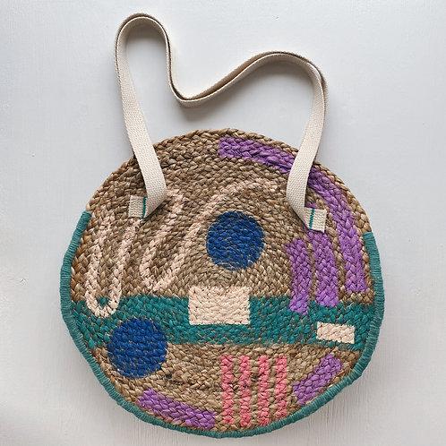 Antonia Jute Tote Bag
