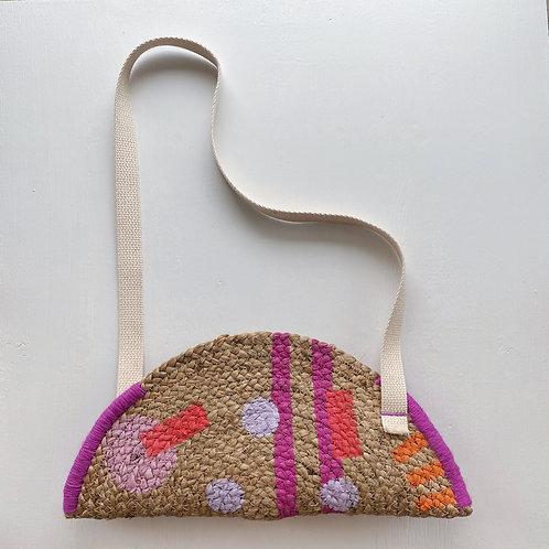 Carmen Jute Shoulder Bag