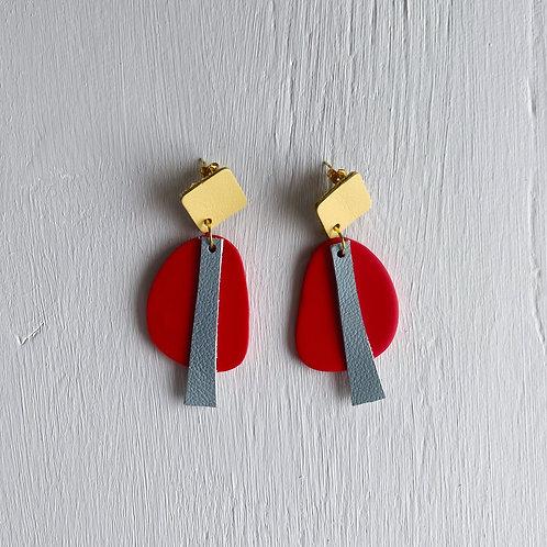 Color Blob Drop Earrings