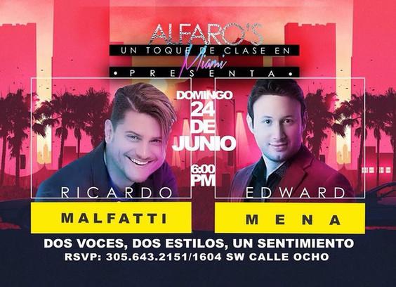 Concierto con Ricardo Malfatti