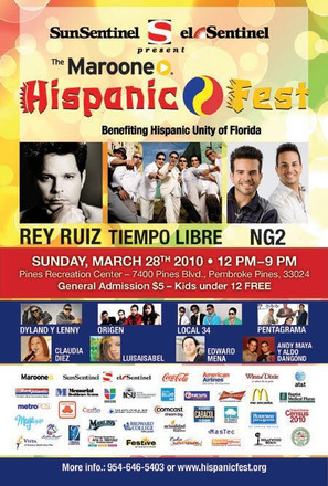 Maroone Hispanic Fest 2010