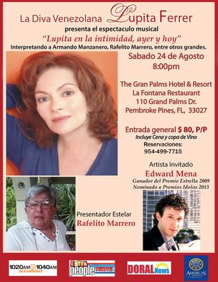 Invitado Especial de Lupita Ferrer
