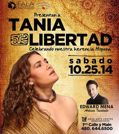Artista Invitado de Tania Libertad en Phoenix