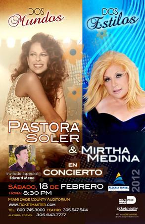 Invitado Especial de Pastora Soler y Mirtha Medina en Miami