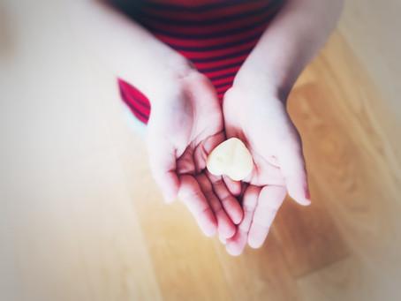 Rezept für meine einfache Pflege für gestresste Hände