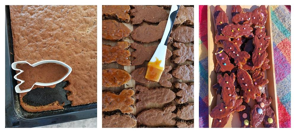 Kuchen, Raketenkuchen, Raketen, Kindergeburtstag Weltraum Astronaut Planeten 5. Geburtstag, Katharina rührt