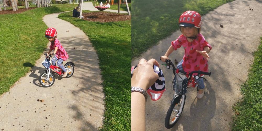 Katharina rührt, Fahrradfahren, Katharina Kohlbach