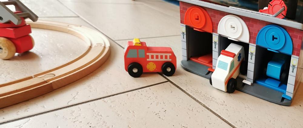 Geschenkideen Kleinkinder, Garage, Einsatzfahrzeuge, Small,but, Katharinarührt
