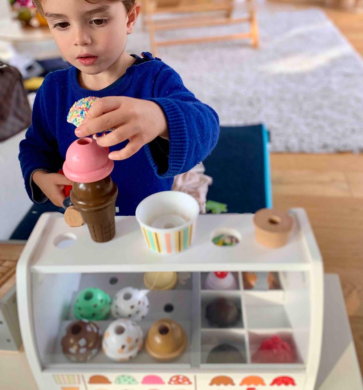 Geschenkideen Kleinkinder, Eissalon, Kaufmannsladen, Spielküche, Small,but, katharina rührt