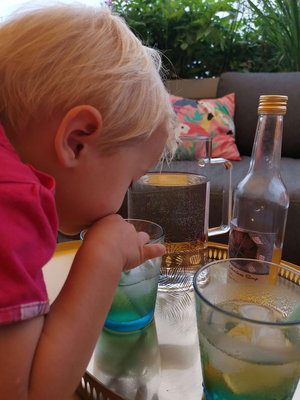 Eberraute, Cola-Sirup, Cola-Kraut, Katharina rührt