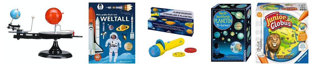 Geschenke, Kindergeburtstag Weltraum Astronaut Planeten 5. Geburtstag, Katharina rührt