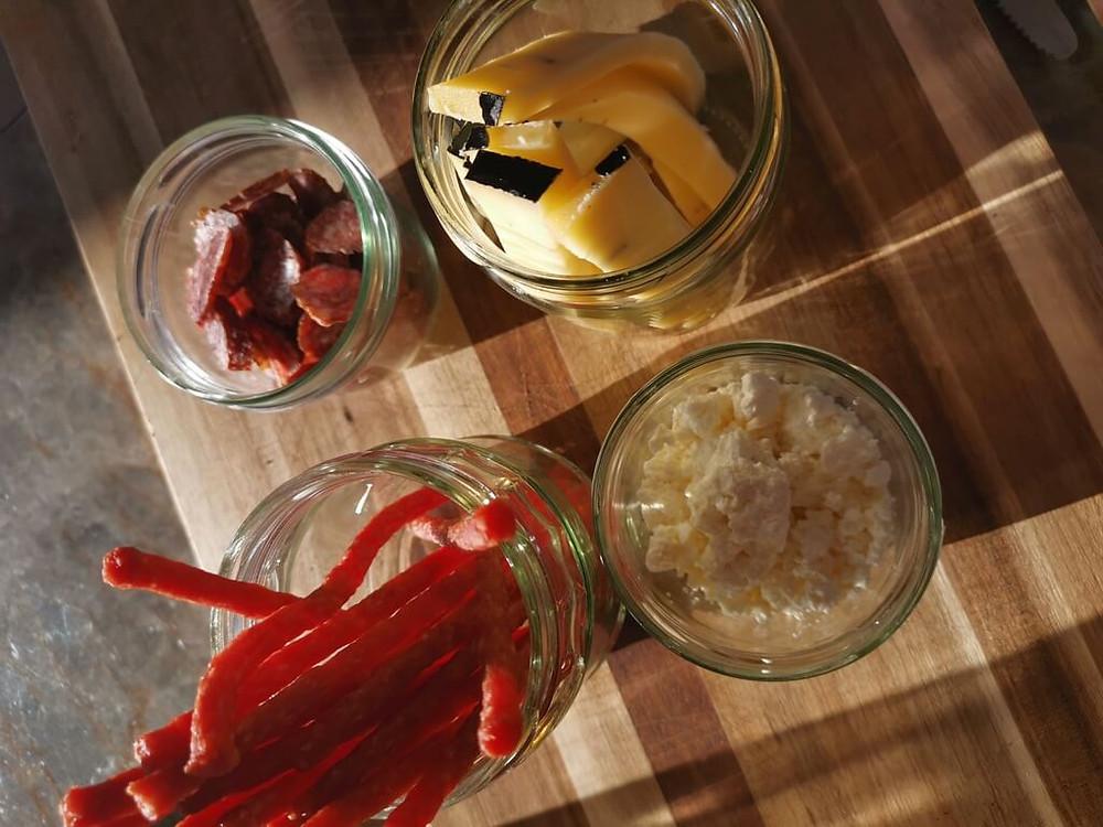 Zero Waste, Verpackung sparen, Glasparadies, Marmeladegläser als Verpackung, Jausenbox, Katharina rührt