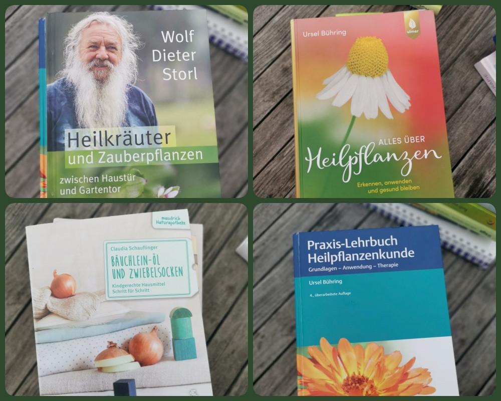 Buchempfehlungen Kräuterkunde, Buchtipps Kräuter