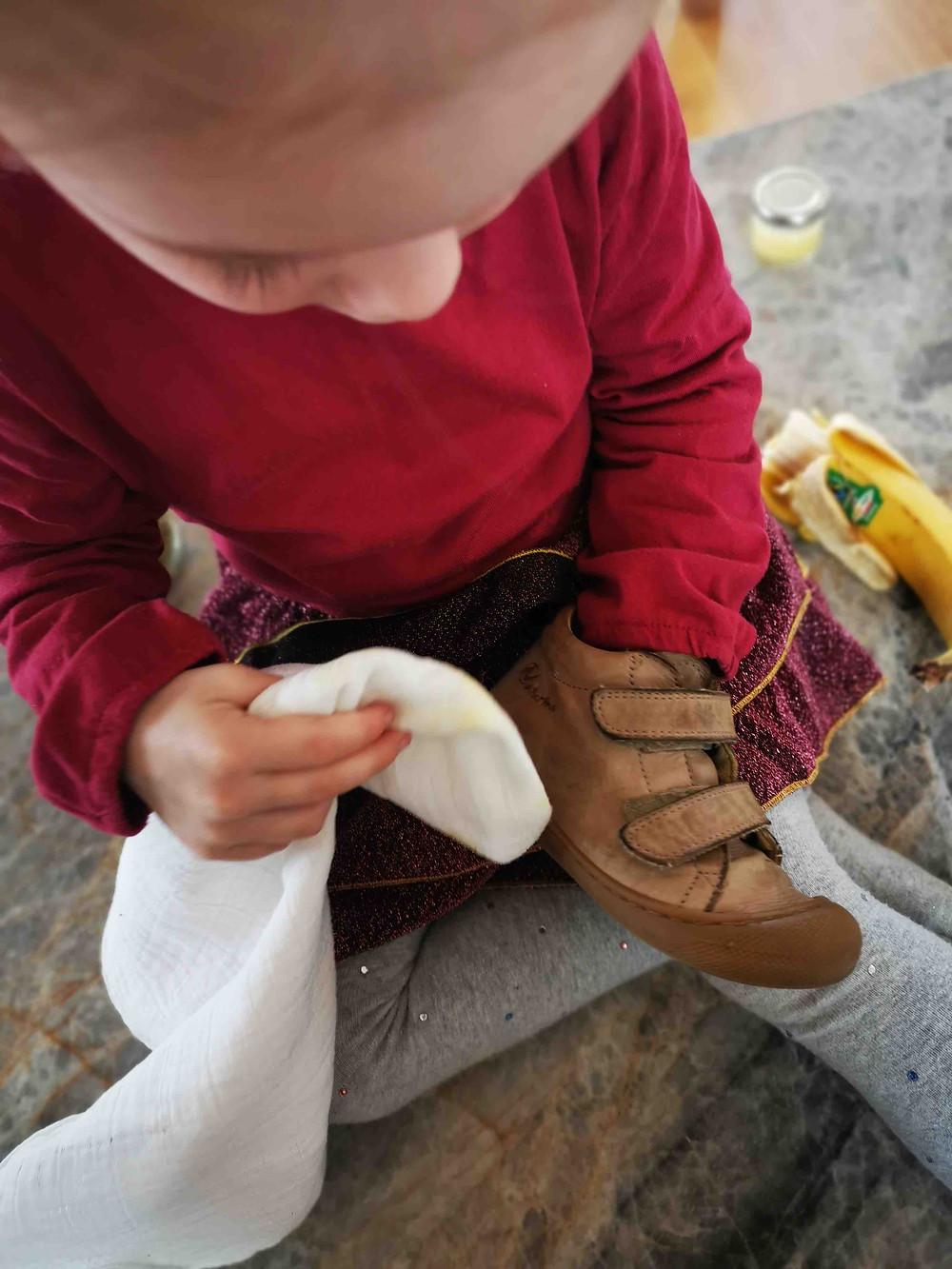 Schuhpflege selber machen, Lederpflege, Katharina rührt