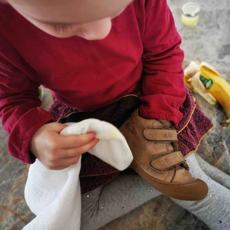 Rezept für biologische Schuhpflege selber machen
