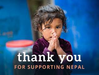 THANK YOU FOR HELPING NEPAL