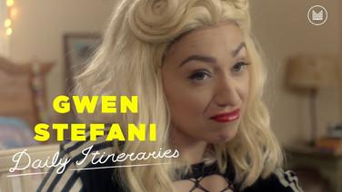 Daily Itineraries | Gwen Stefani