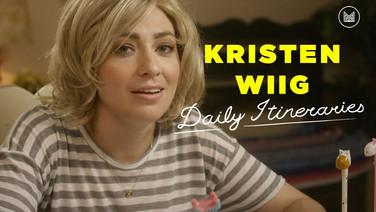 Daily Itineraries | Kristen Wiig