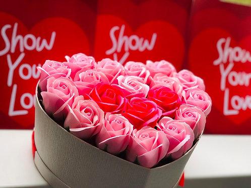 Trandafiri din Sapun - 19 buc.