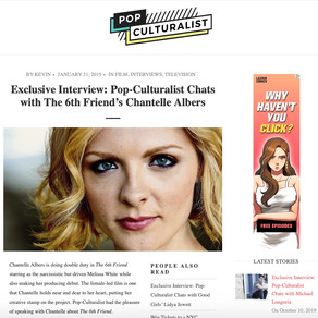 Pop Culturalist Exclusive Interview with Chantelle Albers