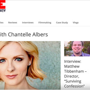 Indie Activity Exclusive Interview with Chantelle Albers on Her Passions as a Filmmaker and Actress.