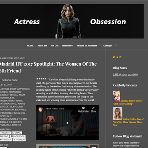 Actress Obsession Spotlight:  Chantelle Albers Attends Madrid International Film Festival