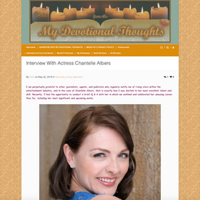 My Devotional Thoughts: Chantelle Albers Interview