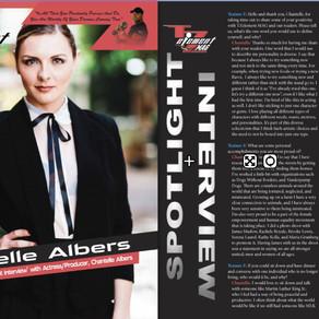 TZ Element: Cover Girl Actress Chantelle Albers
