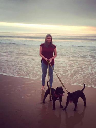 Bunbury Beach at Sunset
