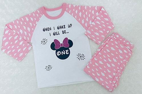 Girls Birthday Pj's, Kids Pyjamas, 1st Birthday, Second Birthday Gifts
