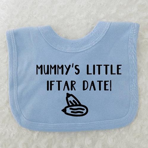 Ramadan bibs, baby's first Ramadan gift, Iftar time, Mummy's/Daddy's Iftar Date