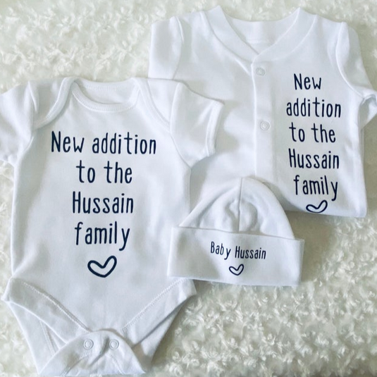 New Addition To The Family Baby Gift Set