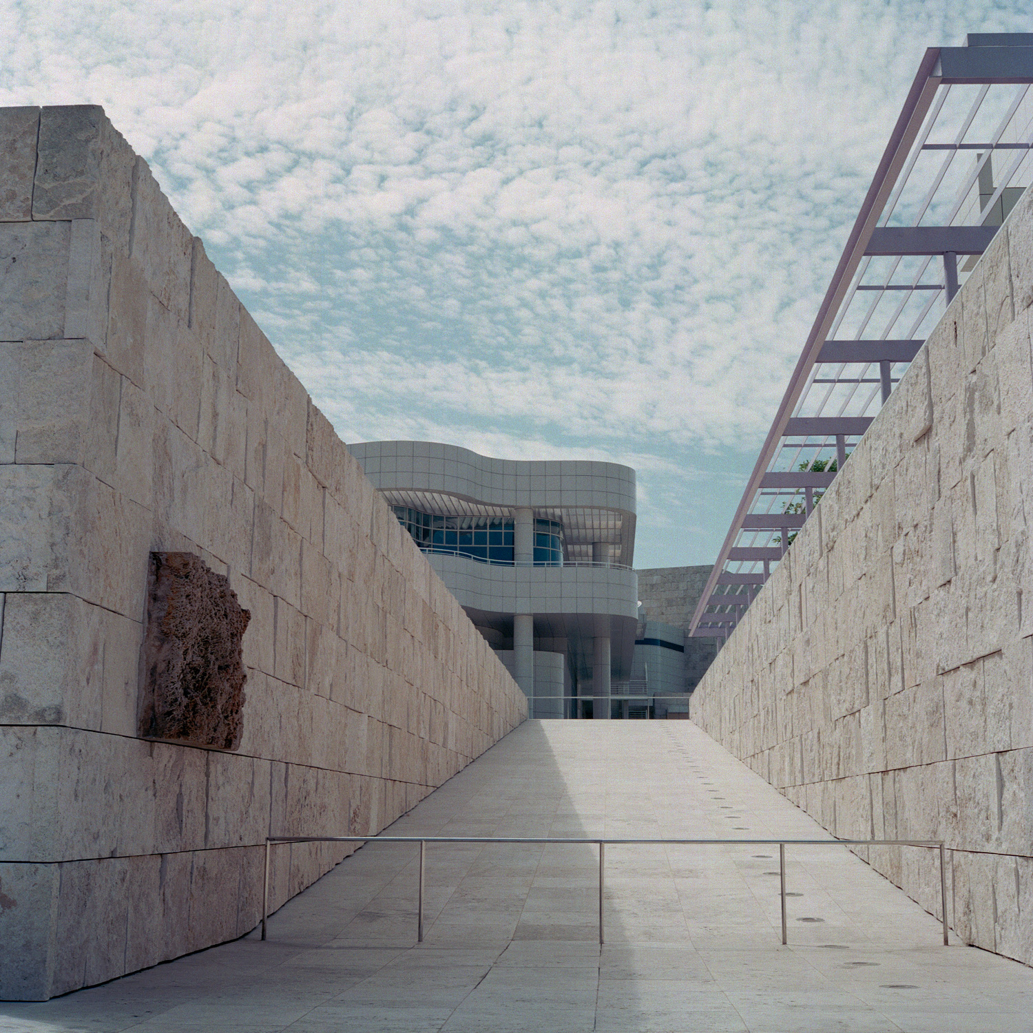 the getty center - meier