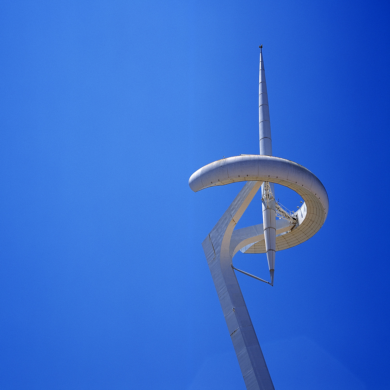 torre tel montjuïc - calatrava