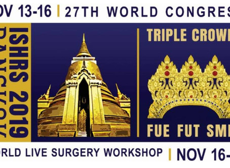 ISHRS 27YH WORLD CONGRESS 13-16.NOV.