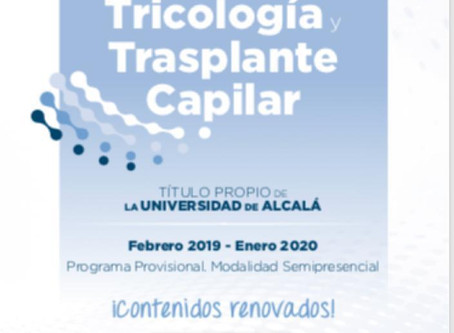 IV Máster Internacional en Tricología y Trasplante Capilar Febrero 2019 - Enero 2020 Programa Provis