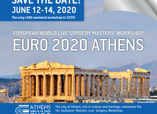 EURO2020 ATHENS 12-14, JUNE 2020 European World Live Surgery Masters' Workshop offered by the ISHRS,