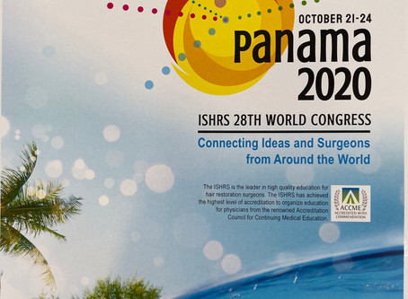 PANAMA 2020 OCTOBER 21-24 ISHRS 28TH WORLD CONGRESS