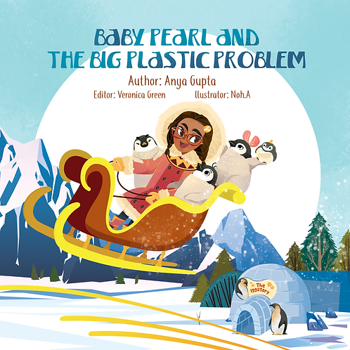 """Signed Paperback-""""Baby Pearl & The Big Plastic Problem"""""""
