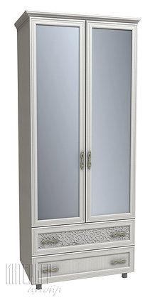 Шкаф с ящиками и зеркалом Виктория