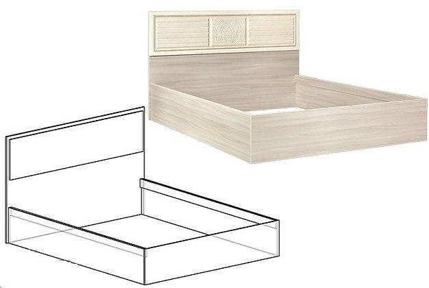 Кровать+подъемный мех. со спинкой МДФ Виктория мм
