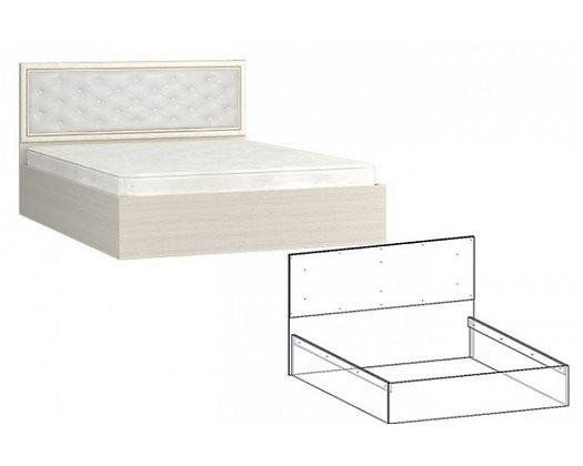 Кровать с мягкой спинкой Виктория мм