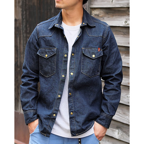 Townes Shirt - Denim